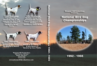 1992-1995 National Bird Dog Championships (DVD)