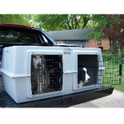 Easy Loader Two-Dog Kennel