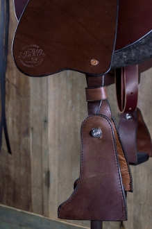 Leather Covered Endurance Stirrups