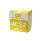 CCI Powerloads 4C22 (Yellow)