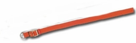 Orange Nylon Collar w/ Extended D Ring